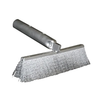 "Cremation Chamber Clean-out 12"" Double Strip Brush"
