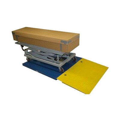 Crematory Scale with Ramp