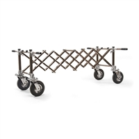 "Ferno Model 87-H Cemetery Church Truck for Funeral Homes & Cemeteries - Casket Handling Equipment - 4 Handles - 61.25"" Max Length - 1000 lb. Load Limit 