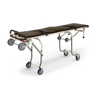 Tall Single Person Mortuary Cot