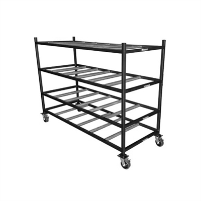 MSS Portable Mortuary Cadaver Storage Rack | MortuaryMall.com