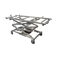 Mortech Model M691 Cadaver Scissor Lift With Rollers