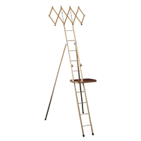 "10"" x 12"" Deluxe Ladder Shelf"