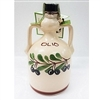 Organic Italian Extra Virgin Olive Oil in Hand Painted Ceramic Jug- 250ml