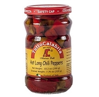 Tutto Calabria Hot Long Chili Peppers