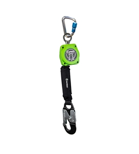 SafeWaze 019-5049 SRD Series 6 foot self retracting web lifeline