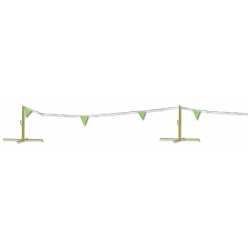Mutual 15903 Flagged Nylon Cord Warning Line.