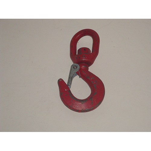 Pewag 147100DS <b>10 Ton</b> Carbon Steel Swivel Hook.