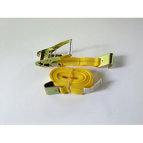 5130X27-25 <b>2 Inch X 27 Foot</b> Heavy Duty Cargo Control Ratchet Assembly With Flat Hooks.