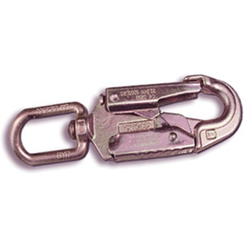 Guardian <b>01825</b> Steel <b>3/4 Inch</b> Gate Opening Snaphook With <b>Swivel</b>.