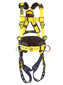 3M DBI/SALA 1101656 Delta Construction Vest-Style Full Body Harness