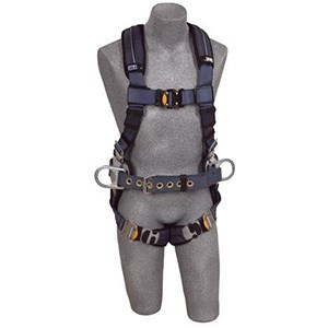 3M DBI/SALA 1110151 ExoFit XP Construction Vest-Style Full Body Harness
