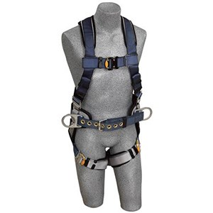 3M DBI/SALA 1108500 ExoFit Construction Vest-Style Full Body Harness