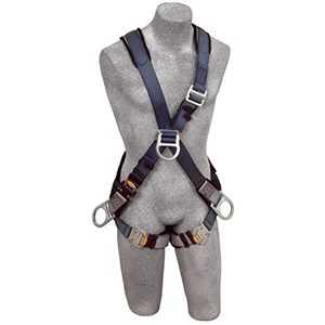 3M DBI/SALA 1108700 ExoFit Cross-Over Style Full Body Harness