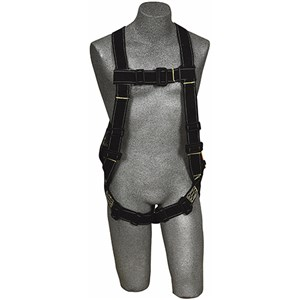 DBI/SALA 1105477 <b>Delta II Nomex/Kevlar Flame Resistant Vest-Style</b> Full Body Harness With <b>Single Back Dee Ring</b> And <b>Pass-Thru Buckle</b> Leg Straps.  <b>Size-X-Large</b>.