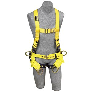 3M DBI/SALA 1107777 Delta Tower Climbing Vest-Style Full Body Harness