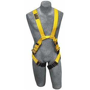 DBI/SALA 1110750 <b>Delta II Arc Flash</b> Full Body Harness With <b>Front And Back Web Loops, Leather Insulators</b> And <b>Pass-Thru Buckle</b> Leg Straps.  <b>Size-Medium</b>.