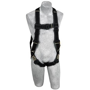 DBI/SALA 1110830 <b>Delta II Arc Flash/Flame Resistant</b> Full Body Harness With <b>PVC Coated Back Dee Ring, Nomex/Kevlar Webbing</b> And <b>PVC Coated Pass-Thru Buckle</b> Leg Straps.  <b>Size-Universal</b>.