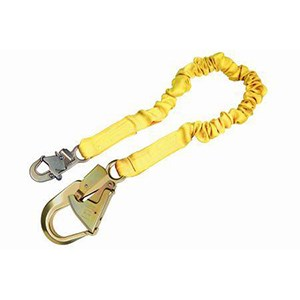 3M DBI/SALA 1244311 Internal Stretch Shock Absorbing Lanyard With Rebar Hook