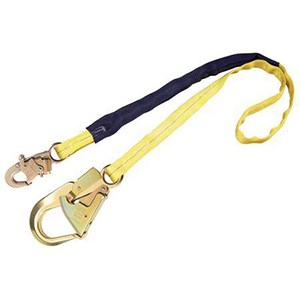 3M DBI/SALA 1244024 Internal Shock Absorbing Lanyard With Rebar Hook