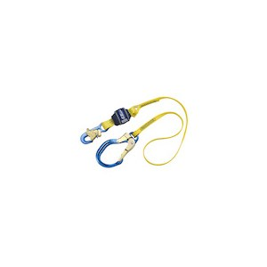 3M DBI/SALA 1246103 Shock Absorbing Web Lanyard With Rebar Hook