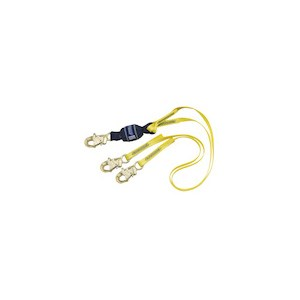 3M DBI/SALA 1246161 100% Tie-Off Force2 Shock Absorbing Web Lanyard