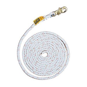 3M DBI/SALA 1202844 5/8 Inch Diameter 100 Foot Vertical Rope Lifeline
