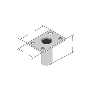 3M DBI/SALA 8510316 Advanced Series Flush Floor Mount Sleeve