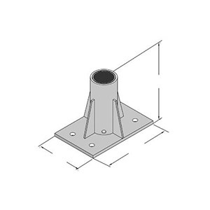 3M DBI/SALA 8512831 Advanced Series Center Mounted Floor Mount Sleeve
