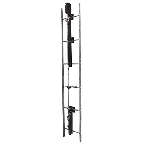guardian 04810 100 foot cable fixed ladder climbing system