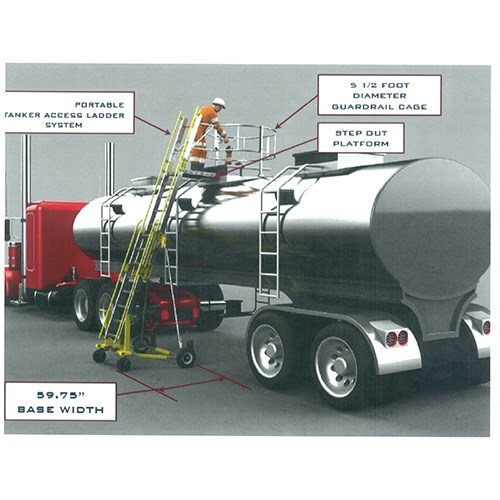 3m Dbi Sala Advanced Portable Tanker Access Ladder System