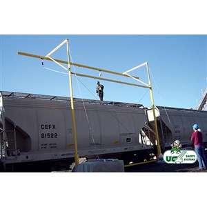 3M DBI/SALA Advanced Counter-Weight Horizontal Rail Fall Arrest System