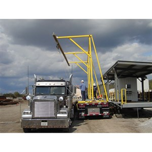 3M DBI/SALA Advanced Trailer-Mounted Horizontal Rail Fall Arrest System