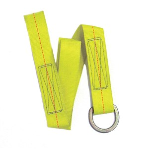 Super Anchor 6051D 4 Foot Value Tie-Off Strap With D-Ring