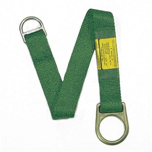Super Anchor 6031 36 Inch Tie-Off Strap With Large And Small D-Rings