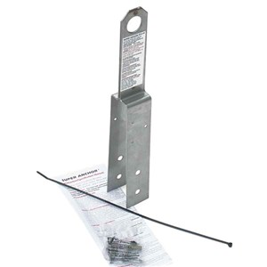 Super Anchor 1006 ARS 2 X 8 Permanent Fall Protection Anchor Without Flashing