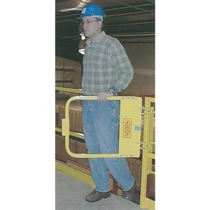 PS Doors LSG-48-PCY Ladder Safety Gate
