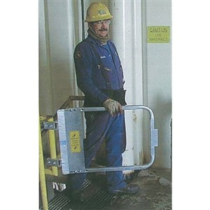 PS Doors LSG-21-GAL Ladder Safety Gate