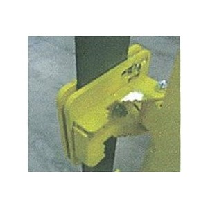PS Doors LSG-FB-2205-PCY Flat Bar Adapter Bracket