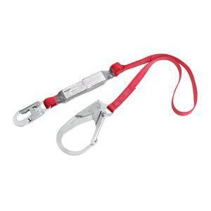 Protecta 1340125 Pro Pack Style Shock Absorbing Web Lanyard