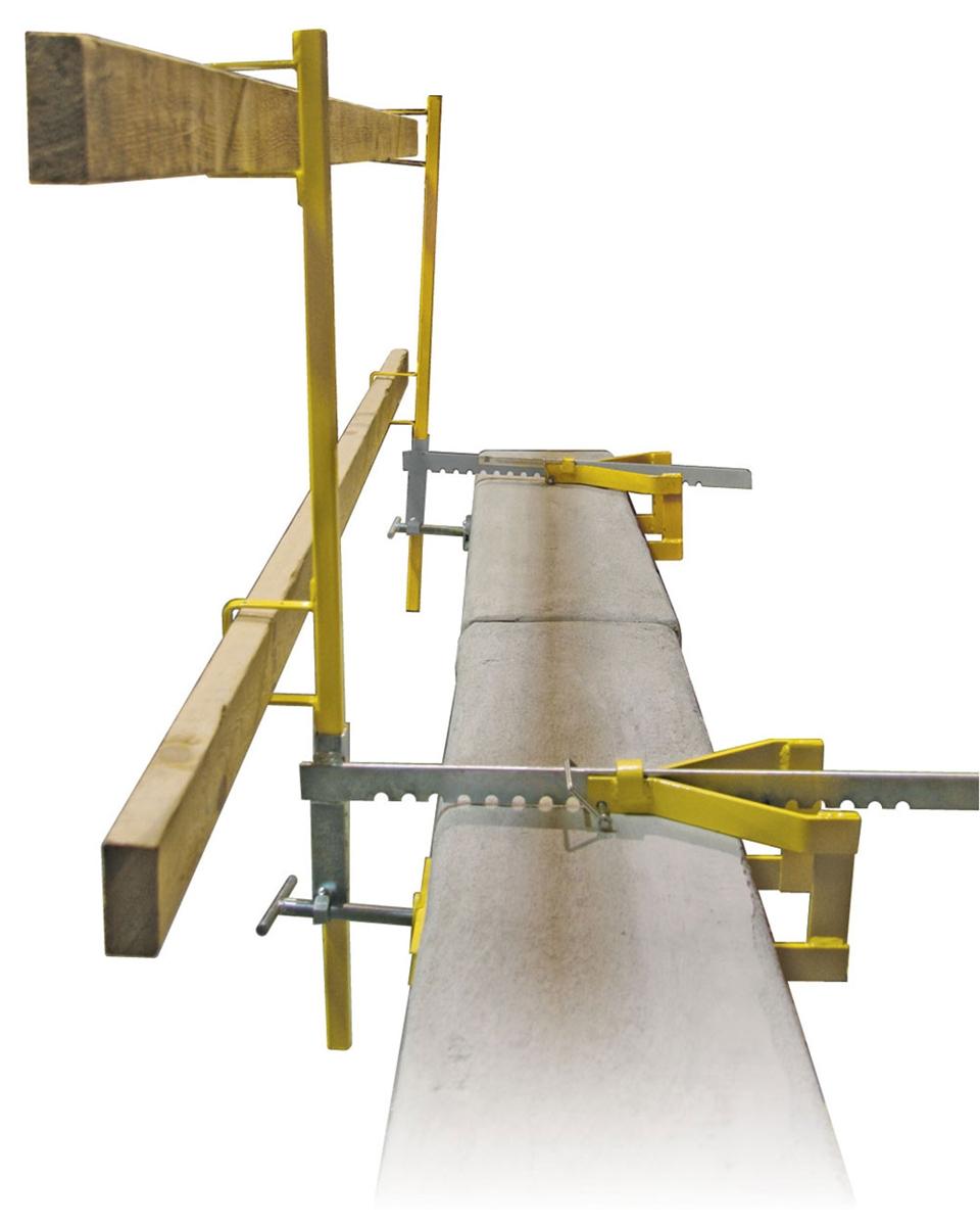 Guardian 15170 Parapet Clamp Guardrail System