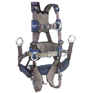 3M DBI/SALA 1113190 ExoFit NEX Tower Climbing Vest-Style Full Body Harness