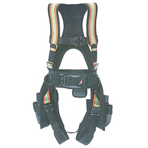 Super Anchor Deluxe Hi-Vis Comfort-Fit Full Body Harness 6151-HVS
