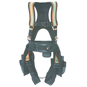 Super Anchor Deluxe Hi-Vis Comfort-Fit Full Body Harness 6151-HVL