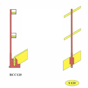 BodyGuard RCC 120 Roof C-Clamp System