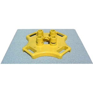 BlueWater 300014 Guardrail Base