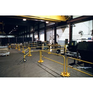 BlueWater 500149 4 Foot Safety Rail 2000 Gate Kit
