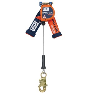 3M DBI/SALA 3500210 Nano-Lok Edge 8 Foot Self Retracting Lifeline