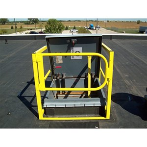 Safety Rail Company 400146 Hatch Guard Roof Hatch Railing System