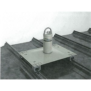 Miller Fusion X10000  Standing Seam Roof Anchor Post